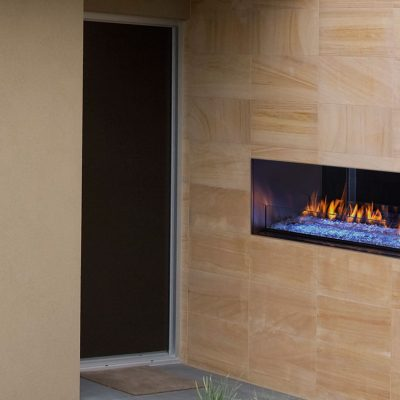 Majestic Palazzo See-Through Gas Fireplace