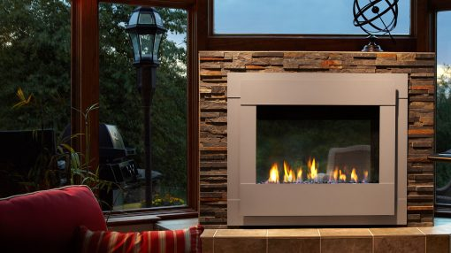 Majestic Twilight Modern Gas Fireplace-1