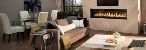 Napoleon Luxuria™ Series Direct Vent Gas Fireplace-1