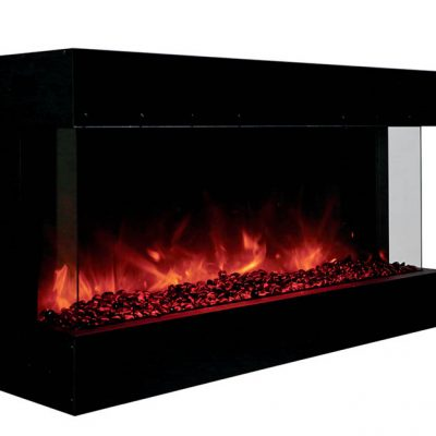 Amantii 40-TRU-VIEW-XL – 3 Sided Electric Fireplace-1