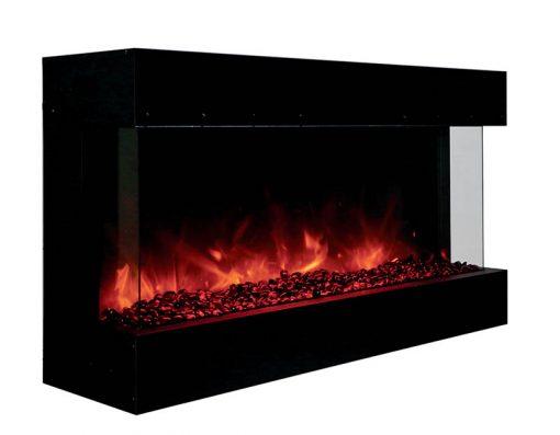 Amantii 40-TRU-VIEW-XL – 3 Sided Electric Fireplace-1