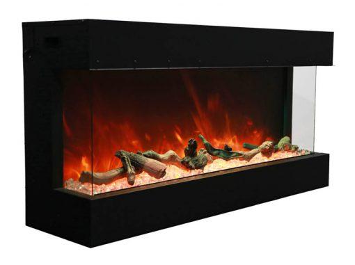Amantii 40-TRU-VIEW-XL – 3 Sided Electric Fireplace-10