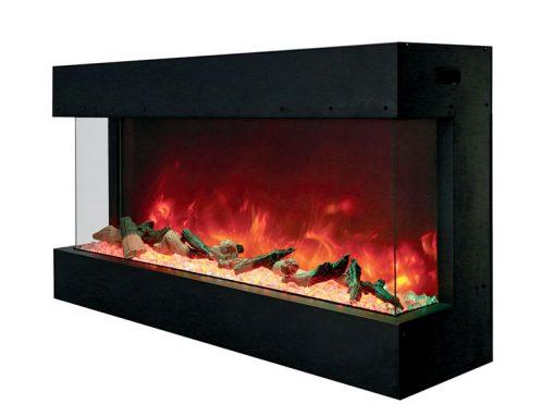 Amantii 40-TRU-VIEW-XL – 3 Sided Electric Fireplace-2