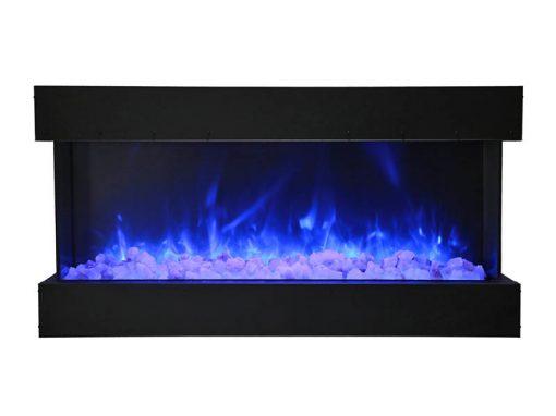 Amantii 40-TRU-VIEW-XL – 3 Sided Electric Fireplace-3