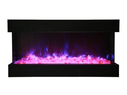 Amantii 40-TRU-VIEW-XL – 3 Sided Electric Fireplace-4