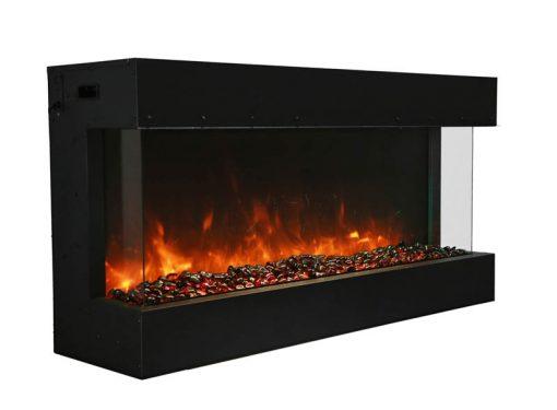 Amantii 40-TRU-VIEW-XL – 3 Sided Electric Fireplace-5
