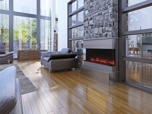 Amantii 40-TRU-VIEW-XL – 3 Sided Electric Fireplace-7