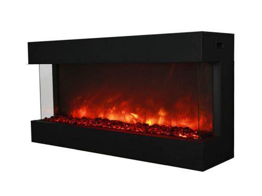 Amantii 40-TRU-VIEW-XL – 3 Sided Electric Fireplace-6