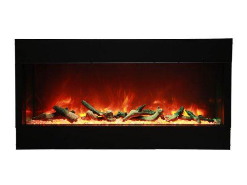 Amantii 40-TRU-VIEW-XL – 3 Sided Electric Fireplace-8