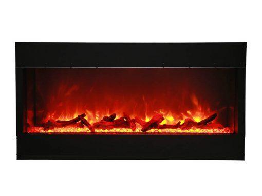 Amantii 40-TRU-VIEW-XL – 3 Sided Electric Fireplace-9