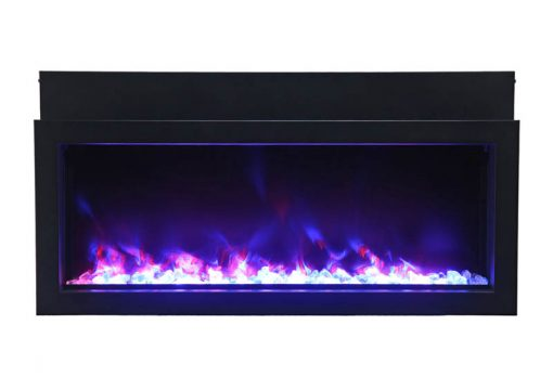 Amantii BI-30-XTRASLIM Electric Fireplace-6