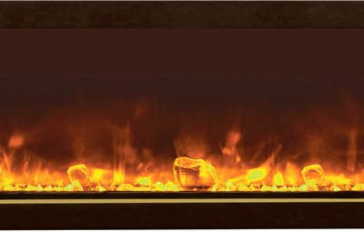 Amantii BI-40-XTRASLIM Electric Fireplace--