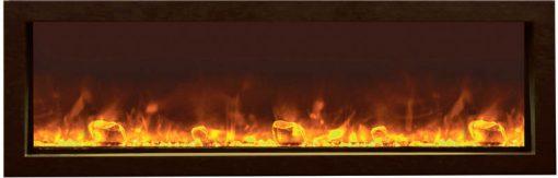 Amantii BI-40-XTRASLIM Electric Fireplace--