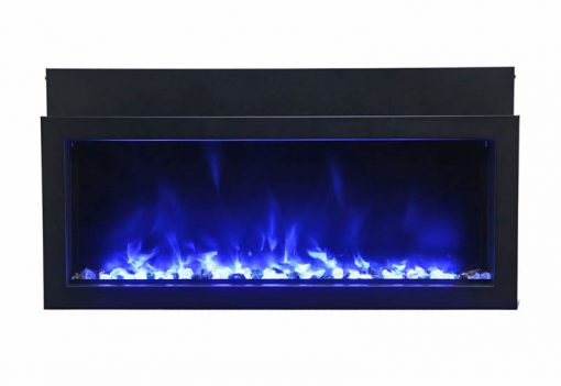 Amantii BI-40-XTRASLIM Electric Fireplace-3