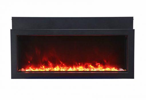 Amantii BI-40-XTRASLIM Electric Fireplace-4