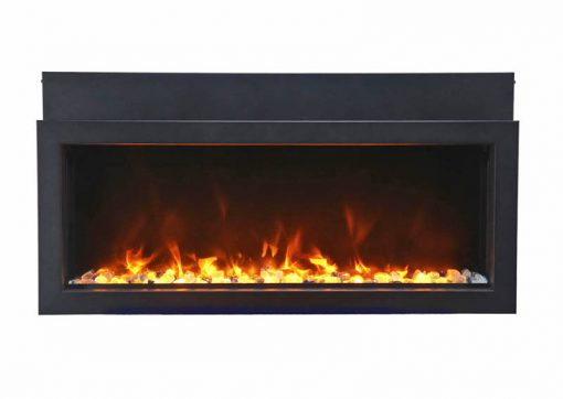 Amantii BI-40-XTRASLIM Electric Fireplace-5