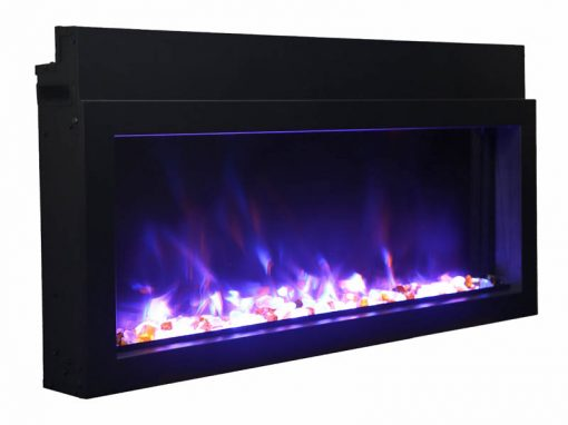 Amantii BI-40-XTRASLIM Electric Fireplace-8