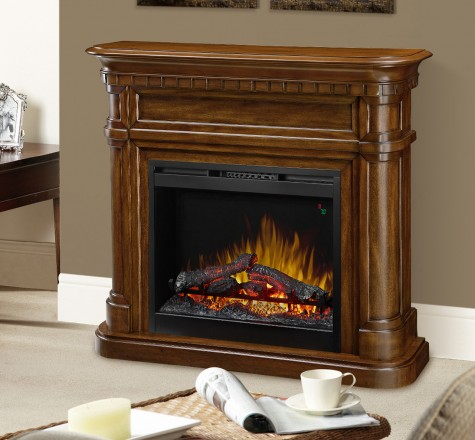 Dimplex Charleston Mantel Electric Fireplace-1