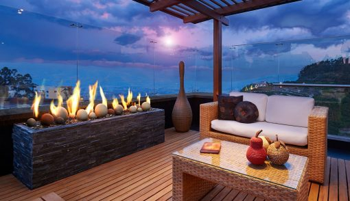 Kingsman Linear Burner Outdoor Gas Fireplaces