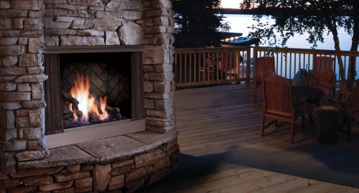 Barbara Jean Outdoor Fireplace-1