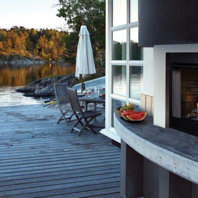 Barbara Jean Outdoor Fireplace