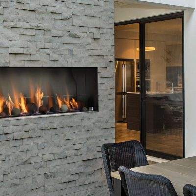 Barbara Jean Outdoor Linear Fireplaces