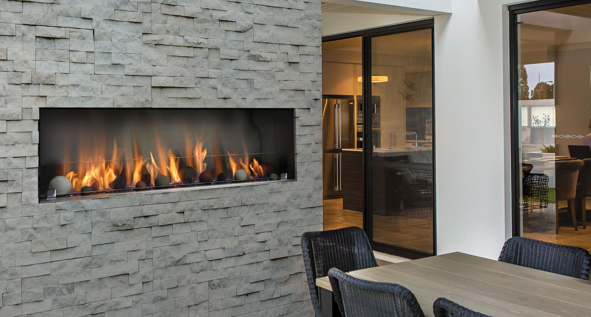 Barbara Jean Outdoor Linear Fireplaces | Toronto Best Price