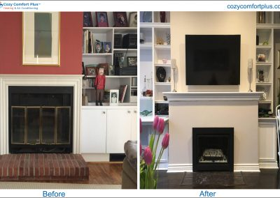 BeforeAfter Fireplace