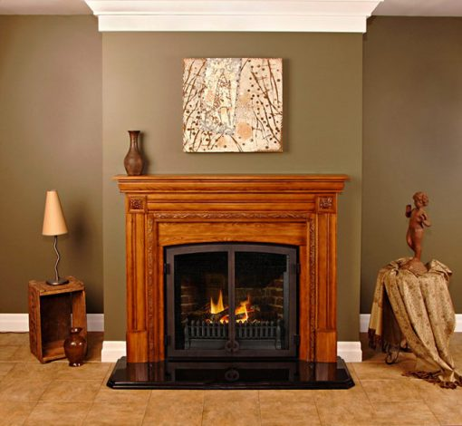 Fires of Tradition Kingston Wood Mantels-2