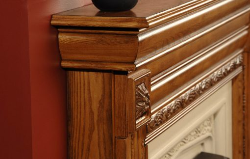 Fires of Tradition Kingston Wood Mantels-4