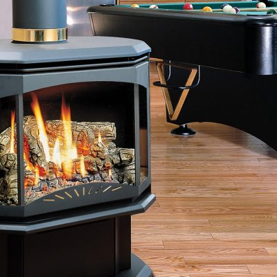 Kingsman FDV350 Free Standing Direct Vent Gas Stove
