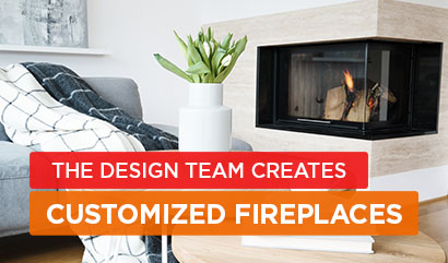 Design and Customize Fireplaces