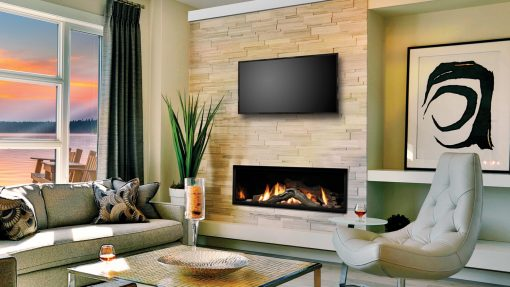 Marquis Serene Zero Clearance Direct Vent Gas Fireplace-1