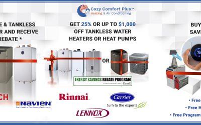 Energy Savings Rebate Program & Enbridge Rebate 2020