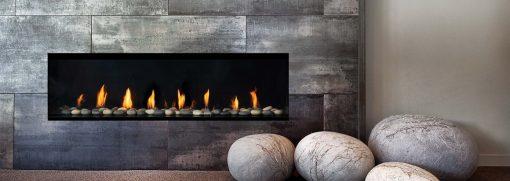 Regency City Series New York View 60 Modern Gas Fireplace-1