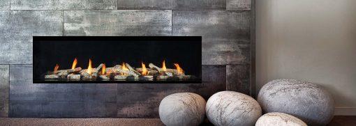 Regency City Series New York View 60 Modern Gas Fireplace-2