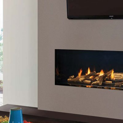 Regency City Series New York View 60 Modern Gas Fireplace