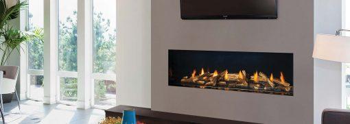 Regency City Series New York View 60 Modern Gas Fireplace