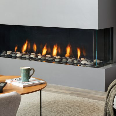Regency City Series San Francisco Bay 60 Modern Gas Fireplace
