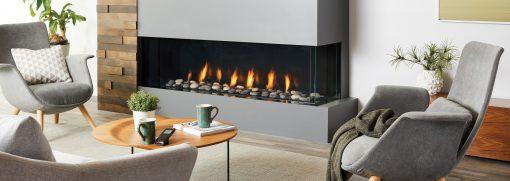 Regency City Series San Francisco Bay 60 Modern Gas Fireplace