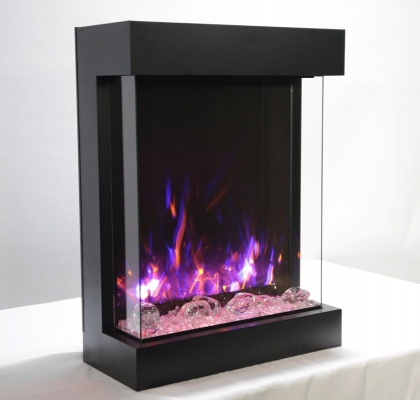 Amantii 2939-TRU-VIEW-XL, 3-sided Electric Fireplace