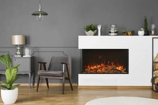 Amantii 40-TRU-VIEW-XL XT– 3 Sided Electric Fireplace-3