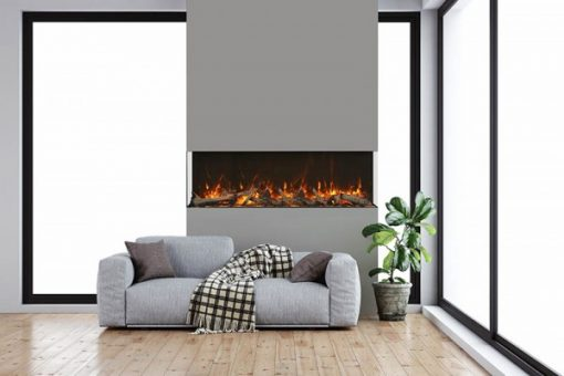 Amantii 40-TRU-VIEW-XL XT– 3 Sided Electric Fireplace-7