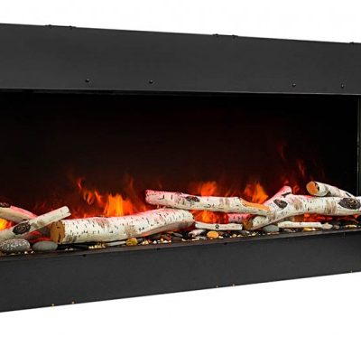 Amantii 50-TRU-VIEW-SLIM – 3 Sided Electric Fireplace-