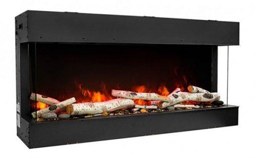 Amantii 50-TRU-VIEW-SLIM – 3 Sided Electric Fireplace-