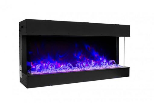 Amantii 60-TRU-VIEW-SLIM – 3 Sided Electric Fireplace