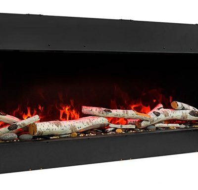 Amantii 72-TRU-VIEW-SLIM – 3 Sided Electric Fireplace