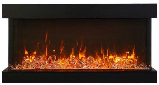 Amantii 88-TRU-VIEW-XL XT– 3 Sided Electric Fireplace