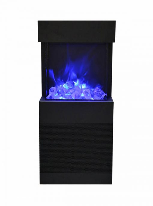 Amantii Cube 2025WM 3 sided Electric Fireplace