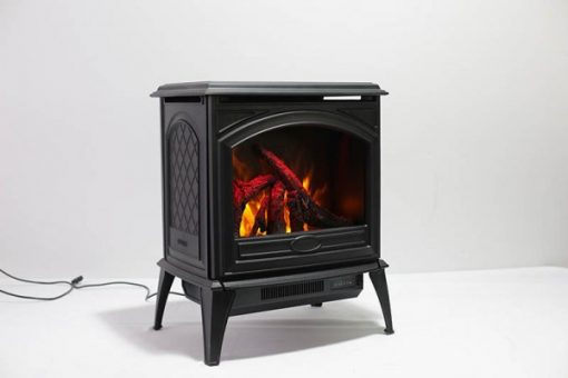 Amantii Free Stand Cast Iron E-50 Electric Fireplace-2